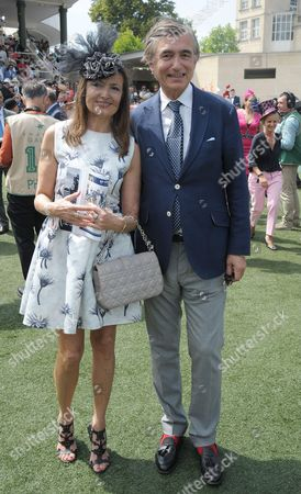 Philippe Douste Blazy and his wife