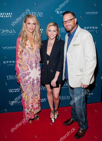 Stock Image of Andrea Bennett, Brittany Snow and Josef Vann