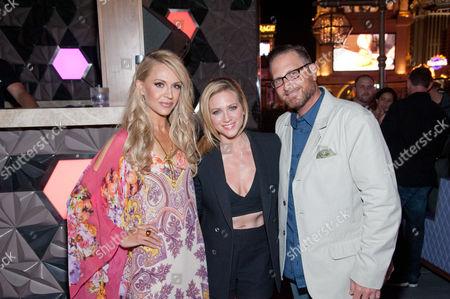 Andrea Bennett, Brittany Snow and Josef Vann