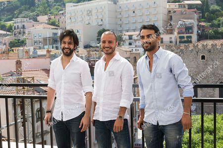 Matteo Branciamore, Primo Reggiani and Nicolas Vaporidis