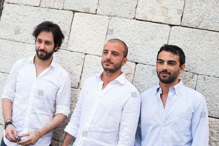 Matteo Branciamore, Nicolas Vaporidis and Primo Reggiani