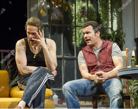 Editorial picture of 'The Motherf**ker With the Hat' Play by Stephen Adly Guirgis performed in the Lyttelton Theatre at the Royal National Theatre, 15 Jun 2015
