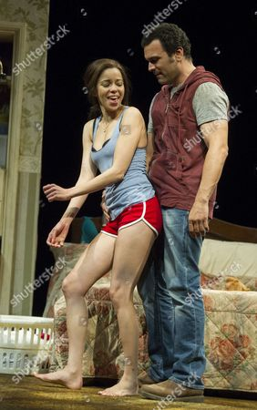 Editorial image of 'The Motherf**ker With the Hat' Play by Stephen Adly Guirgis performed in the Lyttelton Theatre at the Royal National Theatre, 15 Jun 2015