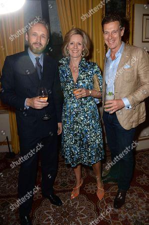 Stock Picture of Alasdhair Willis, Julia Ogilvy and James Ogilvy