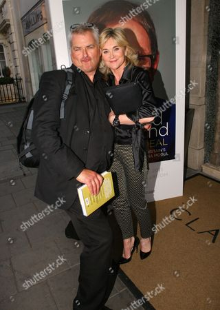 Dave Hogan and Anthea Turner