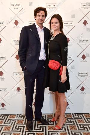 Rupert Finch and Natasha Rufus Isaacs