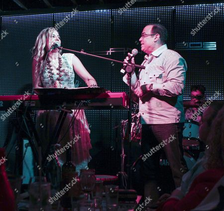 Lena Burke and Gilberto Santa Rosa