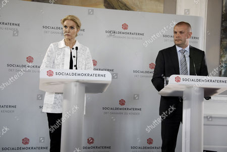 Helle Thorning-Schmidt and Bjarne Corydon
