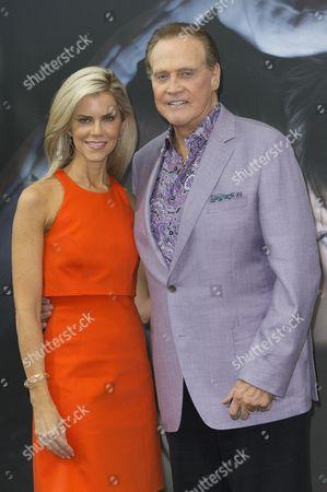 Lee Majors and his wife Faith Majors