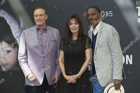 Lee Majors, Stepfanie Kramer and Antonio Fargas