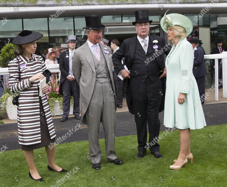 Prince Charles, Camilla Duchess of Cornwall and Lady Sarah Chatto