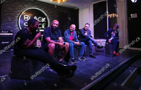 James Massiah, Dave Lewis, Frank Laws, Danny Wallace and Mark Dolan