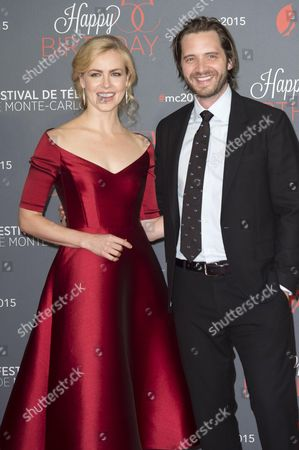 Stock Photo of Amanda Schull and Aaron Stanford