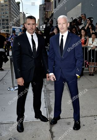 Ben Maisani and Anderson Cooper