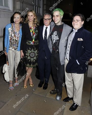 Dee Ocleppo, Tommy Hilfiger and Ricky Hil