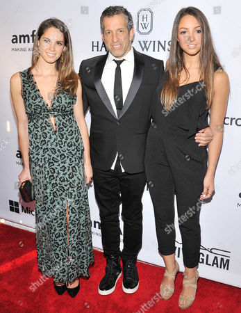 Stock Picture of Emily Cole, Kenneth Cole, Catie Cole