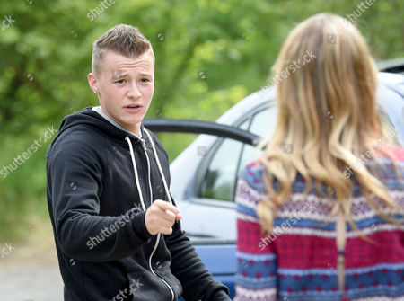 Editorial picture of 'Hollyoaks' TV series on location filming, Liverpool, Britain - 16 Jun 2015