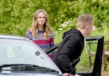 Editorial image of 'Hollyoaks' TV series on location filming, Liverpool, Britain - 16 Jun 2015
