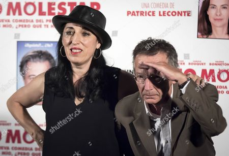 Rossy De Palma and Patrice Leconte