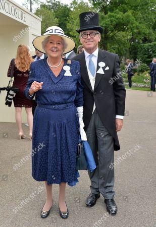 Dame Betty Boothroyd and Tony Murkett