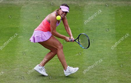 Michelle Larcher De Brito during the third set.