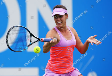 Stock Photo of Michelle Larcher De Brito of Portugal during the third set.