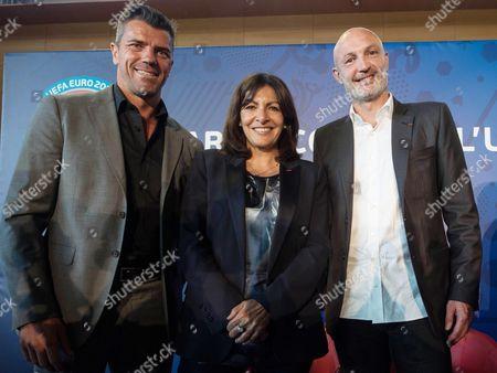 Editorial image of UEFA Euro 2016 European football championships press conference, Paris, France - 16 Jun 2015