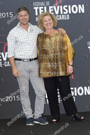 Greg Poehler and Carrie Stein