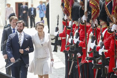 Countess Stephanie de Lannoy / Hereditary Grand Duke Guillaume of Luxembourg of Luxembourg