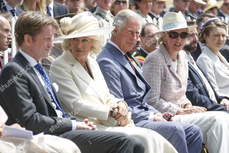 Camilla Duchess of Cornwall, Prince Charles/ Princess Astrid / Countess Stephanie de Lannoy / Hereditary Grand Duke Guillaume of Luxembourg of Luxembourg