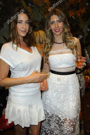 Stock Photo of Lisa Snowdon and Anna Grace-Davidson