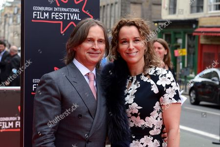 Robert Carlyle (director & actor), with wife Anastasia Shirley