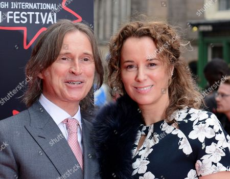 Stock Image of Robert Carlyle (director & actor), with wife Anastasia Shirley