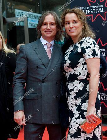 Robert Carlyle and his wife Anastasia Shirley