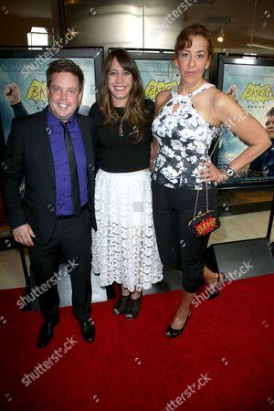 Mike Jutan, Dana Nachman and Patricia Wilson