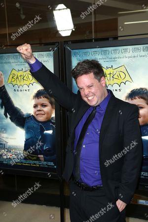 Editorial picture of 'Batkid Begins' film premiere, Los Angeles, America - 17 Jun 2015