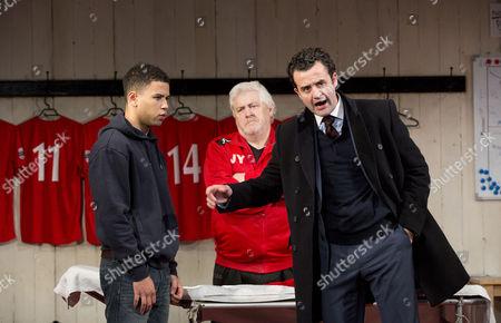 Calvin Demba (Jordan), Peter Wight (Yates), Daniel Mays (Kidd)