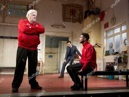 Peter Wight (Yates), Daniel Mays (Kidd), Calvin Demba (Jordan)