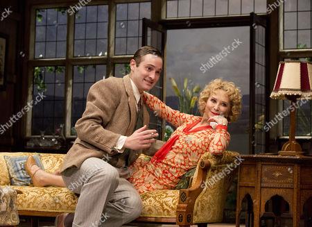 Edward Killingback (Sandy Tyrell) and Felicity Kendal (Judith Bliss)