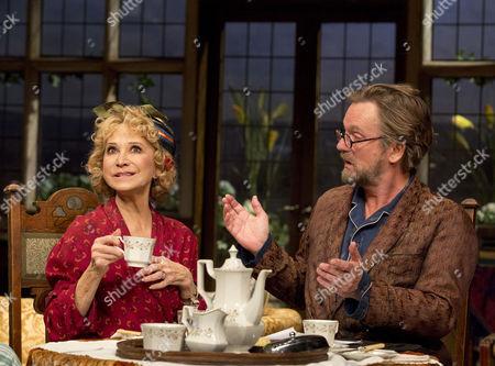 Felicity Kendal (Judith Bliss) and Simon Shepherd (David Bliss)
