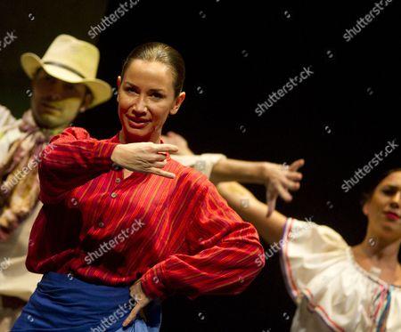 Editorial picture of Cecilia Gomez tribute to Chavela Vargas at the Reina Victoria Theatre,  Madrid, Spain - 02 Jun 2015