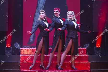 Stock Image of Georgina Hagen, Rachel Stanley and Louise Dearman.