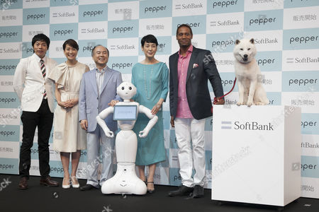 Editorial photo of SoftBank press conference, Chiba, Japan - 18 Jun 2015