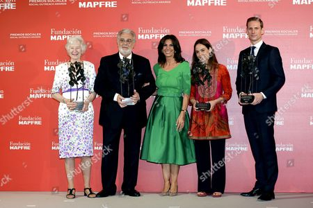 Editorial picture of Mapfre Foundation Awards ceremony, Madrid, Spain - 18 Jun 2015