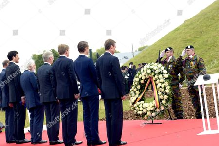 Prince Edward, Duke of Kent, King Willem-Alexander, Arthur Wellesley Hunter Duke of Wellington, Prince Nikolaus Furst Blucher von Wahlstatt, Prince Jean-Christophe Napoleon Bonaparte, King Philippe, Grand Duke Henri of Luxembourg