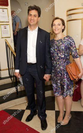 Ed Miliband & Justine Thornton
