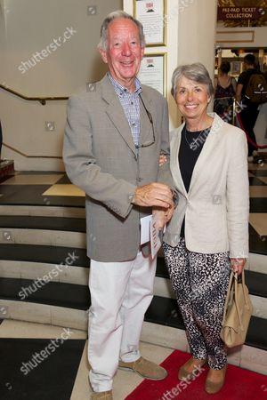 Stock Image of Michael Buerk & Christine Buerk