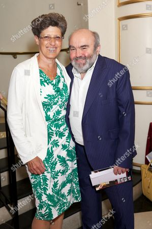 Stock Photo of Libby Asher & Andy Hamilton