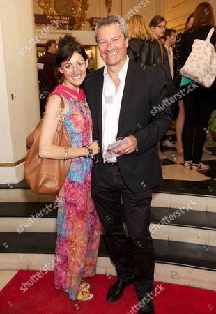 Anna Phoebe and Gavin Esler