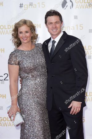 Eric Close and his wife
